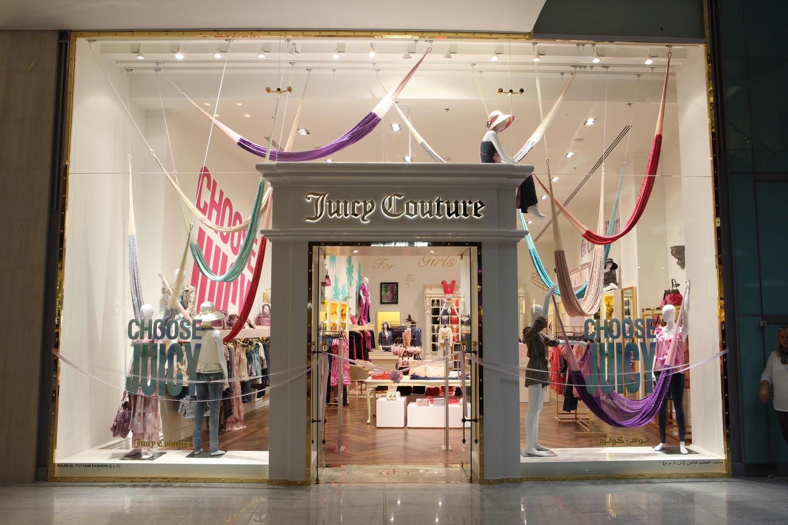 Juicy Couture at Dubai Mall! | Candy & Couture