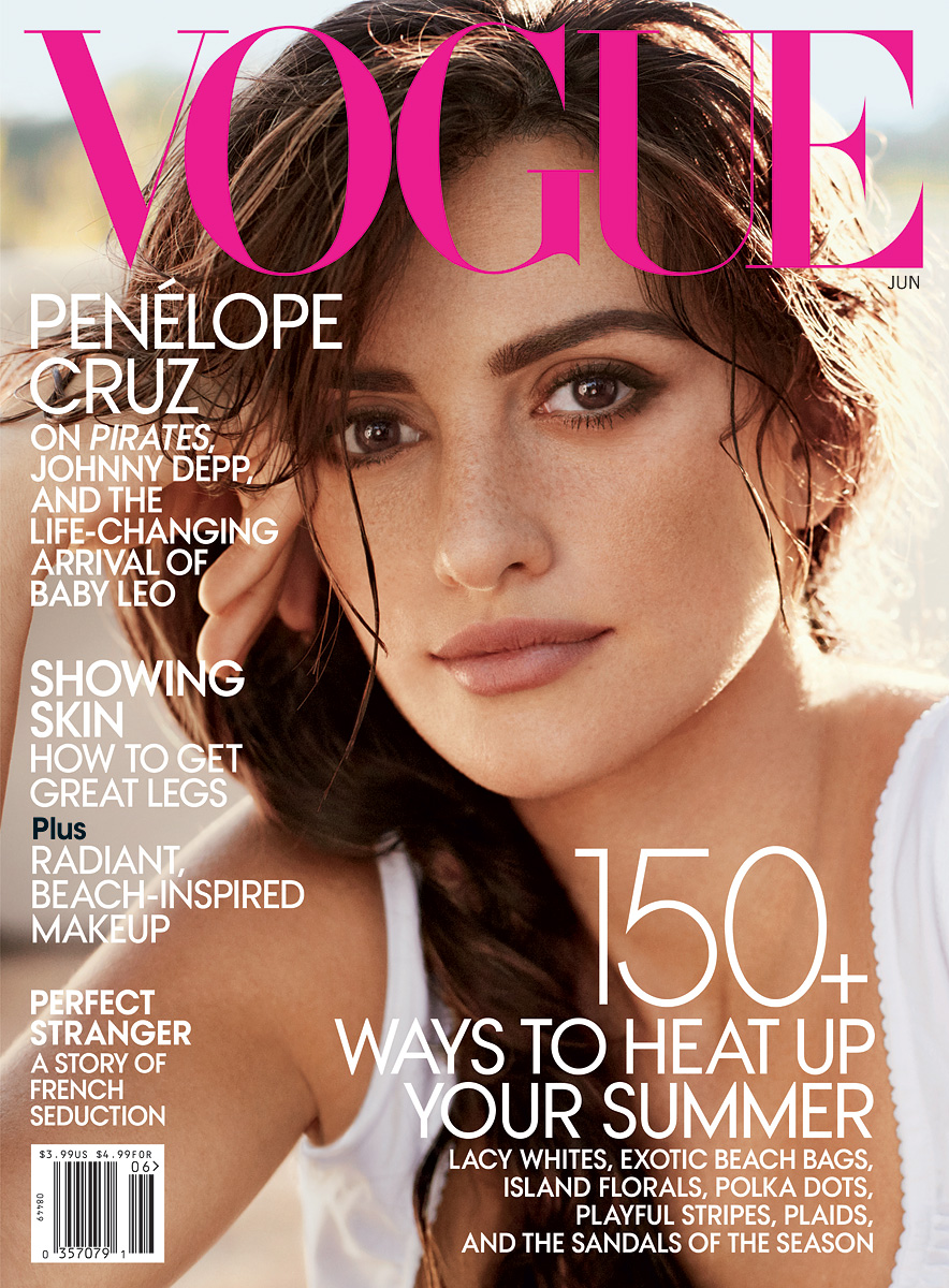 Penelope Cruz Covers Vogue US