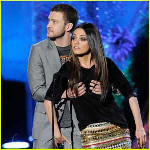 Justin Timberlake Films on Justin Timberlake And Mila Kunis At The Annual Mtv Movie Awards That