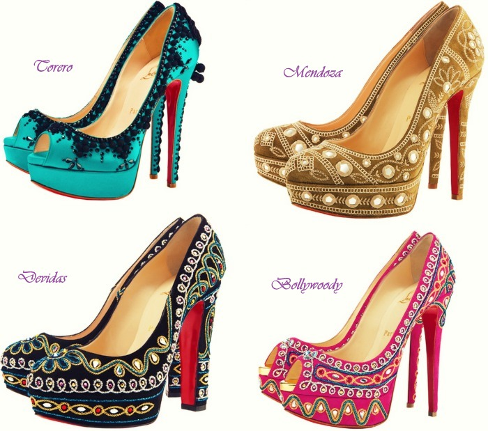Confessions of a Shoe Addict: Christian Louboutin S/S 2012 | Candy & Couture