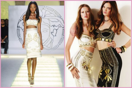 Versace vs River Island