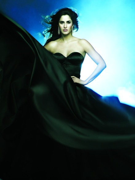 Katrina Black Gown